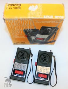 Pareja de Walkie Talkie Gembox Model KT-4