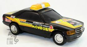 Mercedes de Rico MB Coupe Rallye Assistance salvaobstaculos